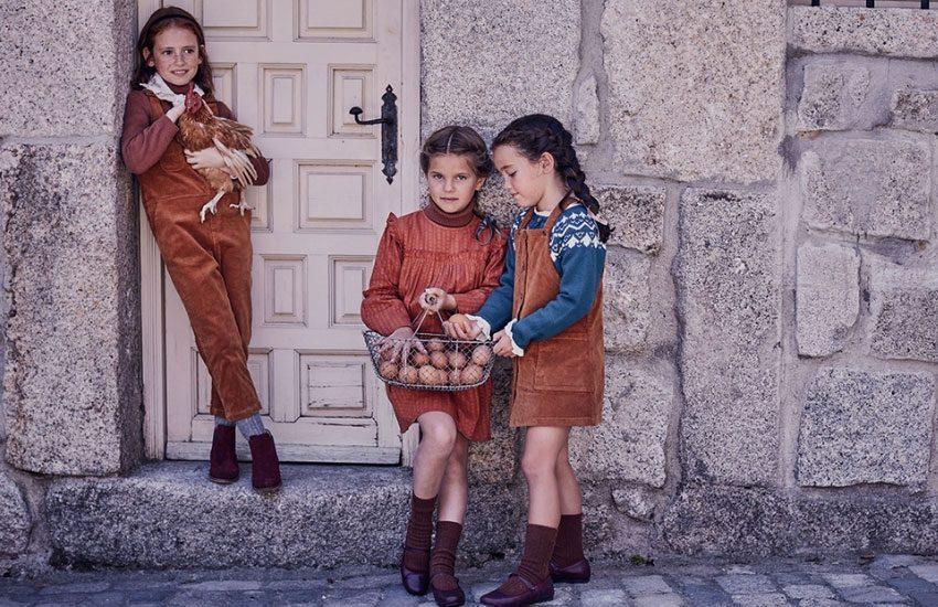Bonnet à pompon ropa para niñas