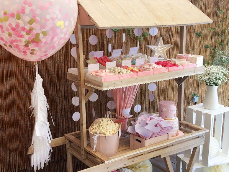candy bar primera comunion