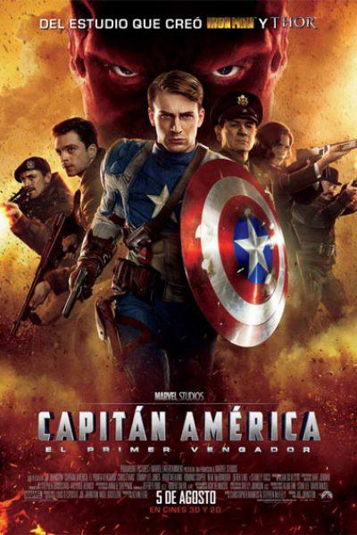 Capitán America pelicula Marvel