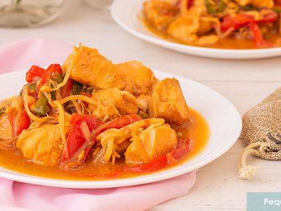cómo hacer chop suey de pollo