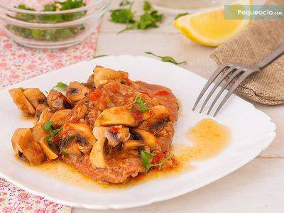 como hacer filete de ternera en salsa