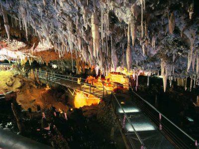 Cuevas el Soplao Cantabria