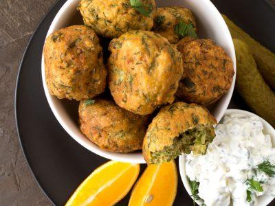 falafel de garbanzos receta