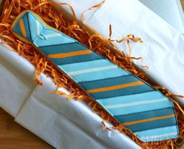 galletas en forma de corbata para papá