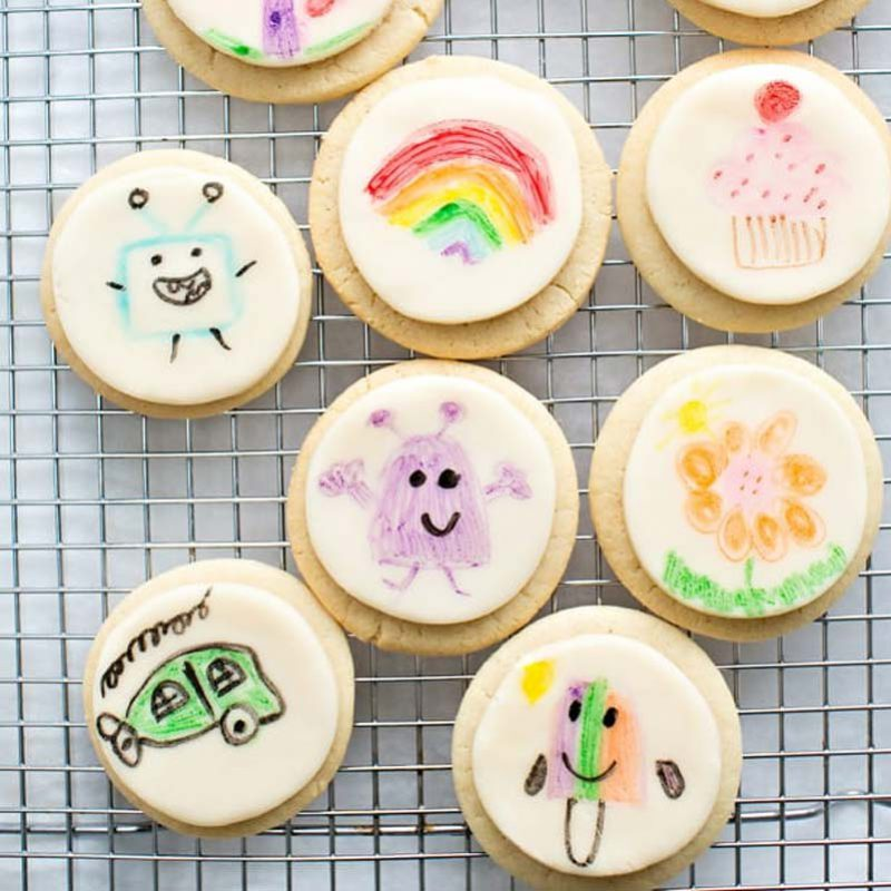 galletas decoradas con rotuladores comestibles