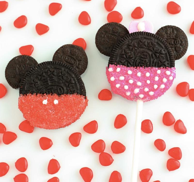 Galletas de Mickey Mouse y Minnie