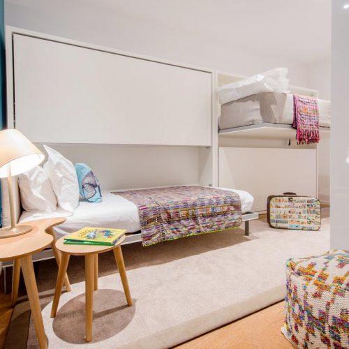 habitaciones con literas hoteles familiares Portugal Lisboa