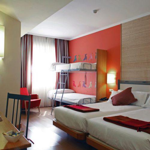 Hoteles para niños Madrid