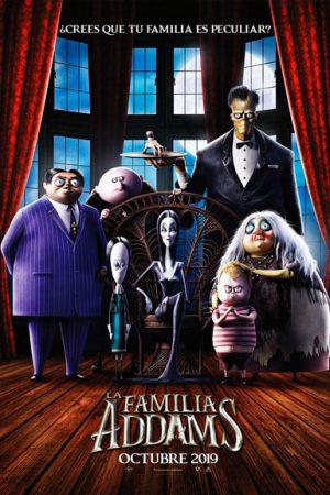La familia Addams pelicula 2019