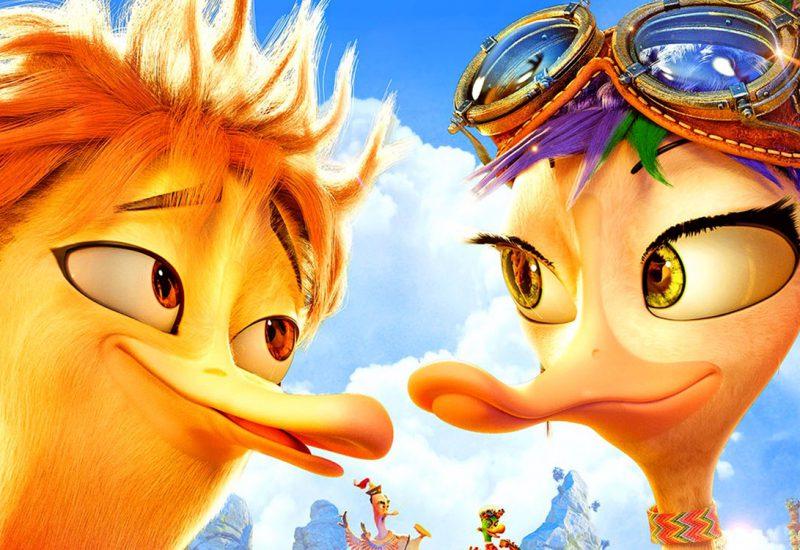 quackers pelicula niños