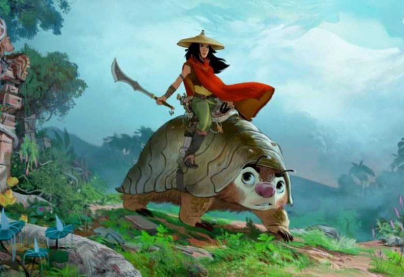 raya y el ultimo dragon pelicula
