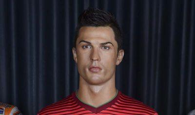 Ronaldo Museo de cera de Madrid