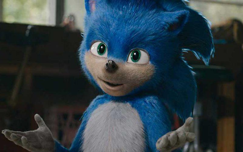 Sonic pelicula para niños
