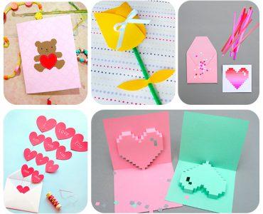 tarjetas fáciles del Día de la Madre