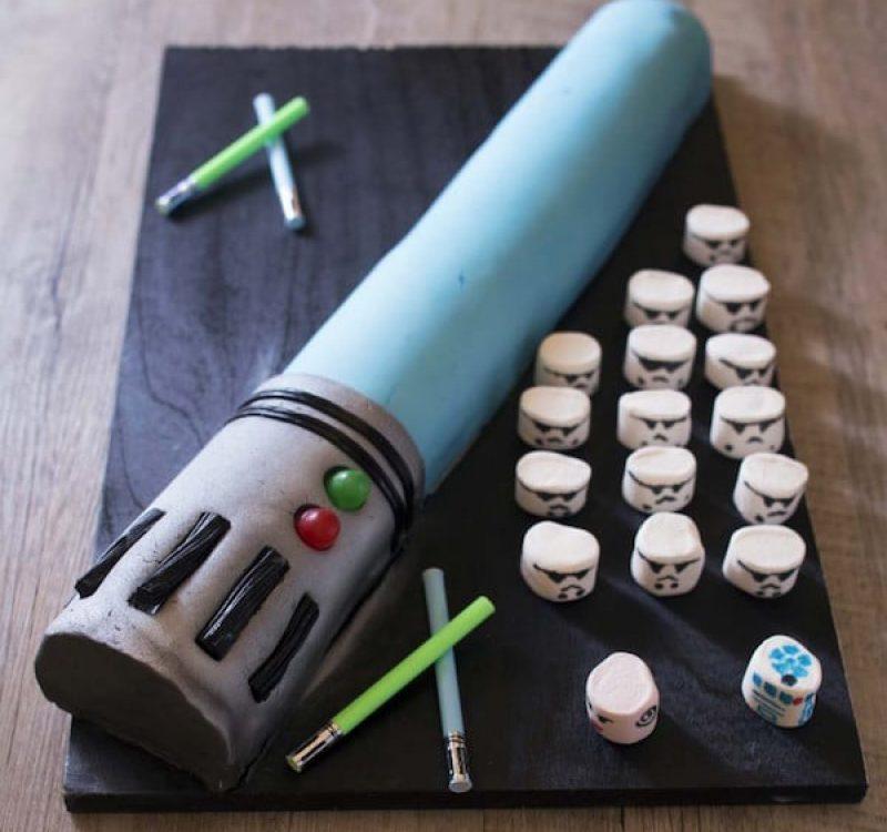 Tarta fácil de Star Wars