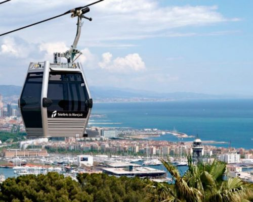 Teleferico Montjuic Barcelona entradas