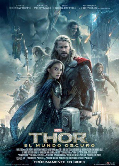 Thor el mundo oscuro Marvel