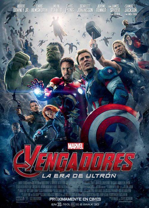 Vengadores la era de Ultron Marvel