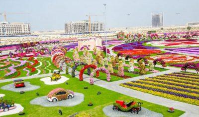 Dubai Miracle Garden, ¡un jardín de ensueño para niños!