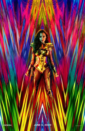 Wonder Woman 1984 cartel estreno