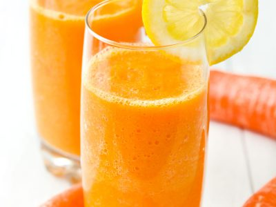 como hacer zumo de zanahoria
